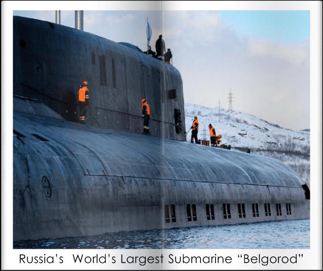 Rushian Submarine Belgorod