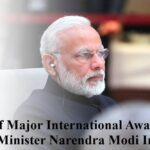 List of Major International Awards to Prime Minister Narendra Modi In Hindi