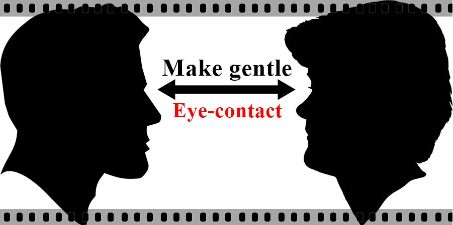 Make Eye Contact before English Bolna Sikhe se pahle