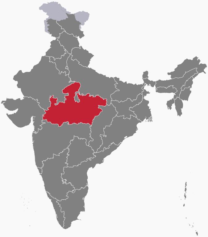 Madhya Pradesh Ka Gathan