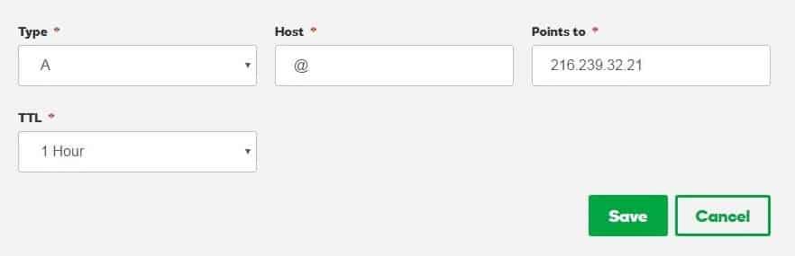 setup custom domain godaddy