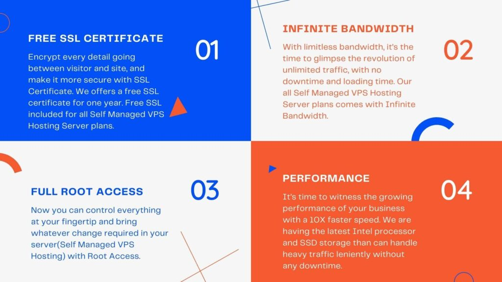 Top 6 Web Hosting Features List